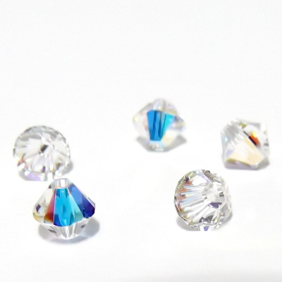 Swarovski Elements, Bicone 5328-Cristal AB, 5mm 1 buc