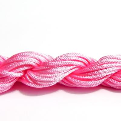 Snur matasos pt bratari shamballa, roz, 2mm-scul aproximativ 12m 1 buc