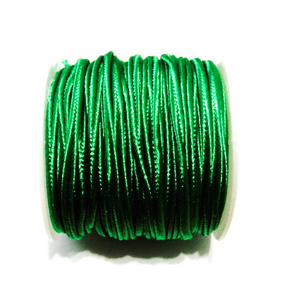 Snur Soutachee verde, latime 2.5mm- rola cca 10 metri 1 buc