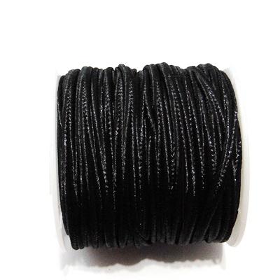 Snur Soutachee negru, latime 2.5mm- rola cca 10 metri 1 buc
