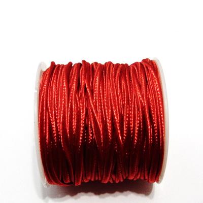 Snur Soutachee rosu, latime 2.5mm- rola cca 10 metri 1 buc