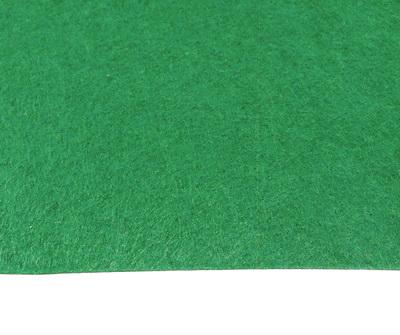 Fetru verde, foaie 50x50cm, grosime 1.5mm 1 buc