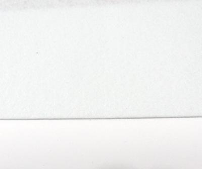 Fetru alb, foaie 50x50cm, grosime 1.5mm 1 buc