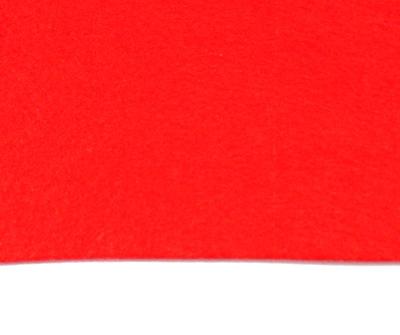 Fetru rosu, foaie 50x50cm, grosime 1.5mm 1 buc