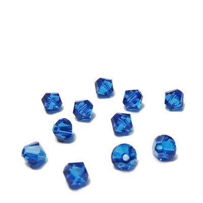 Swarovski Elements, Bicone 5328-Capri  Blue, 4mm 1 buc