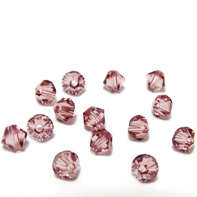 Swarovski Elements, Bicone 5328-Blush Rose, 4mm 1 buc