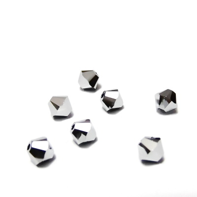 Swarovski Elements, Bicone 5328-Chrome, 4mm 1 buc
