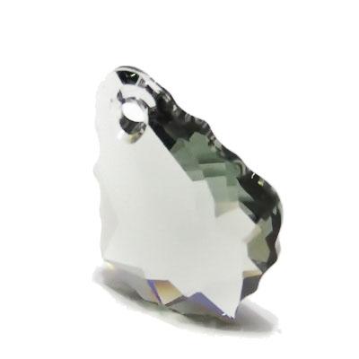 Swarovski Elements, 6090-Black Diamond, 16x11mm 1 buc