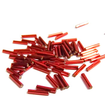 Margele tubulare, TOHO, 9mm, Silver-Lined Ruby 20 g