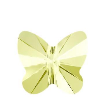 Swarovski Elements, Butterfly 5754-Jonquil, 6 mm 1 buc
