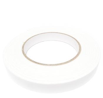 Banda de lipit din burete alb, dublu-adeziva, latime 15mm 1 buc