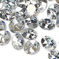 Swarovski Elements, Xirius Chaton 1088 PP14 Crystal 2mm Unfoiled 1 buc