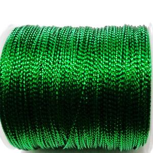 Fir lurex verde, 1mm 1 m