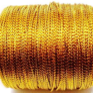 Fir lurex auriu, 1mm 1 m