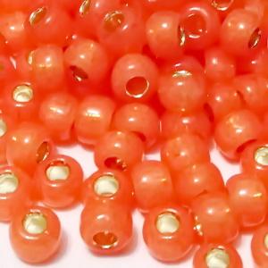 Margele TOHO, rotunde  6/0 : Silver-Lined Milky Grapefruit 20 g