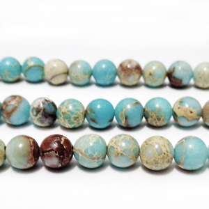 Regalite colorat bleu, 6-6.3mm 1 buc