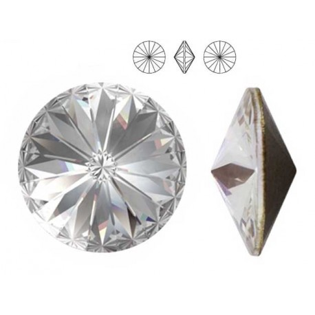 Swarovski Elements, Rivoli 1122 - Crystal, 10mm 1 buc