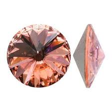 Swarovski Elements, Rivoli 1122 - Blush Rose, 10mm 1 buc