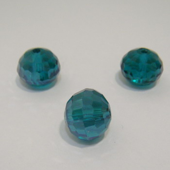 Cristal fatelat verde 11x10 mm 1 buc