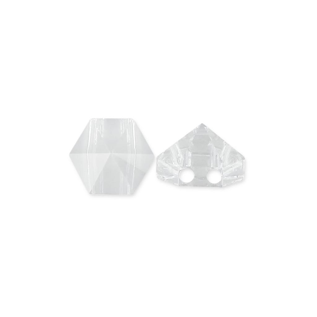 Swarovski Elements, Hexagon Spike Bead, Crystal 7.5mm 1 buc
