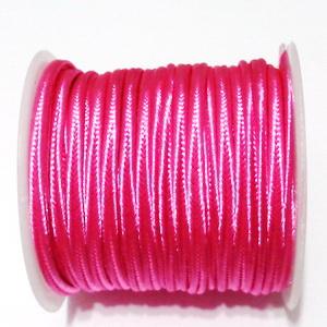 Snur Soutachee roz, latime 2.5mm, rola 4 metri 1 buc