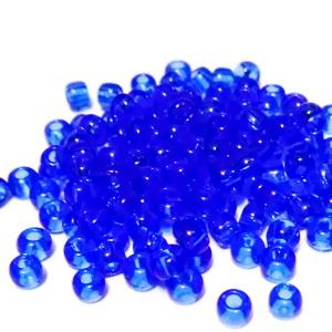 Margele TOHO - rotunde 6/0 : Transparent Sapphire 20 g