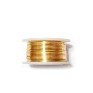 Sarma modelaj NON TARNISH, GILT, 0.4mm, bobina 30 metri 1 buc