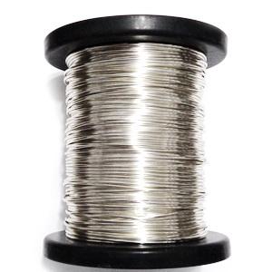 Sarma modelaj NON TARNISH, hard, placata cu argint, 0.8 mm 1 m