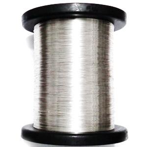 Sarma modelaj NON TARNISH, hard, placata cu argint, 0.4mm 1 m