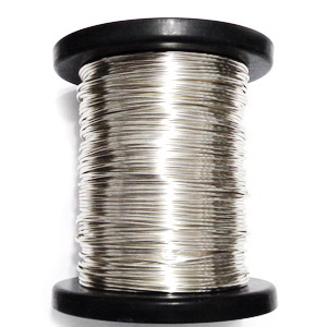 Sarma modelaj NON TARNISH, soft, placata cu argint, 0.8mm 1 m