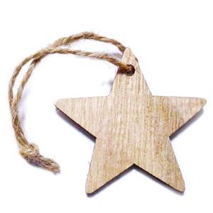 Ornament brad din lemn, clopotel 80x74x3mm-set 2 buc 1 set