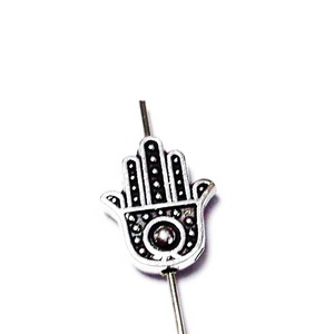 Dirtantier tibetan,mana Hamsa 12x10x3mm 1 buc