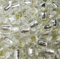 Margele TOHO - rotunde 3/0 : Silver-Lined Crystal 20 g