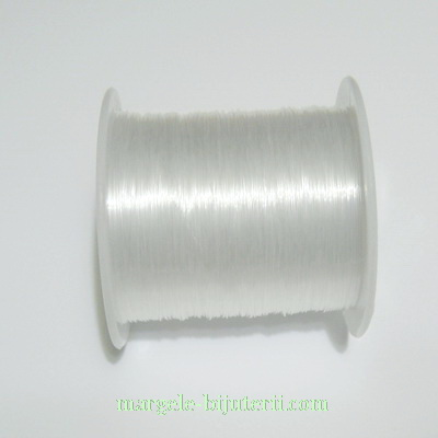 Fir nylon transparent 0.2 mm - bobina 80 m 1 buc