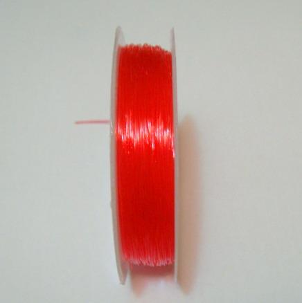 Elastic rosu 0.5mm 1 rola 20 m
