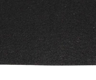 Fetru negru, foaie 80x50cm, grosime 1 mm 1 buc