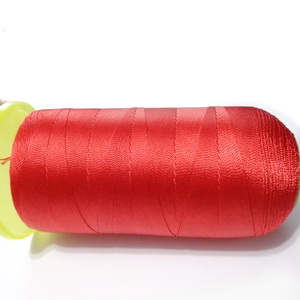 Ata polyester rosie 0.6 mm, mosor cca 300m 1 buc