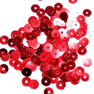 Paiete plastic, rosii, 5mm- 10 grame(1300-1350buc) 1 buc