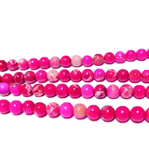 Regalite fucsia, 4 mm 1 buc