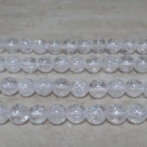 Cristal de gheata, sferic, 6.5mm 1 buc
