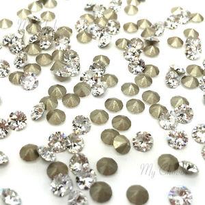 Swarovski Elements, Xirius Chaton 1088 PP10, Crystal 1.6mm 10 buc