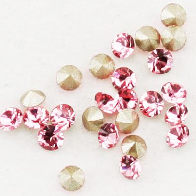 Swarovski Elements, Xirius Chaton 1088 PP10, Light Rose 1.6mm 10 buc