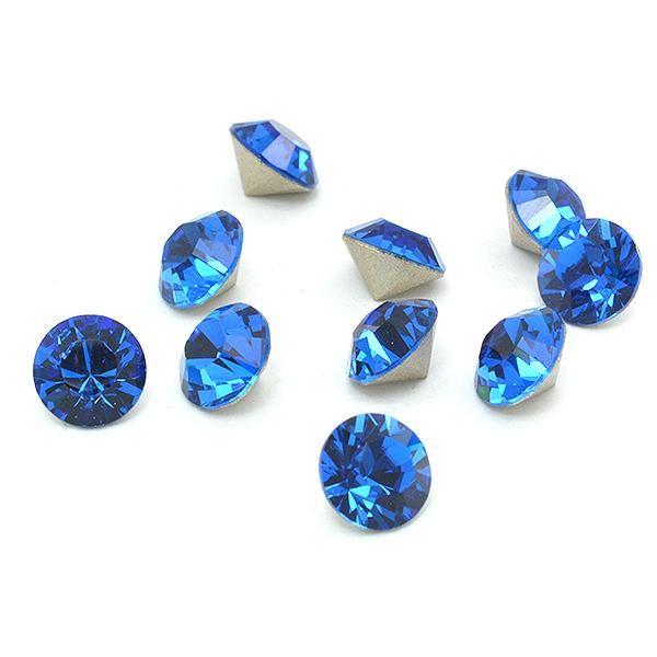 Swarovski Elements, Xirius Chaton 1088 PP14, Capri Blue 2mm 10 buc
