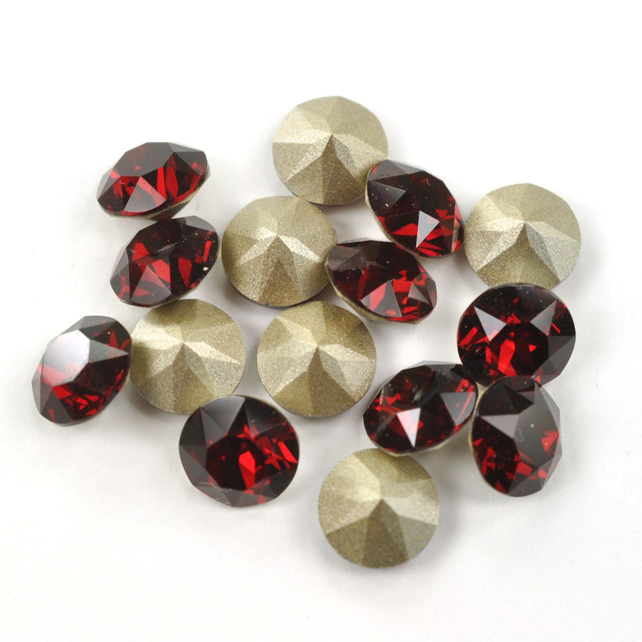 Swarovski Elements, Xirius Chaton 1088 PP14, Siam 2mm 10 buc