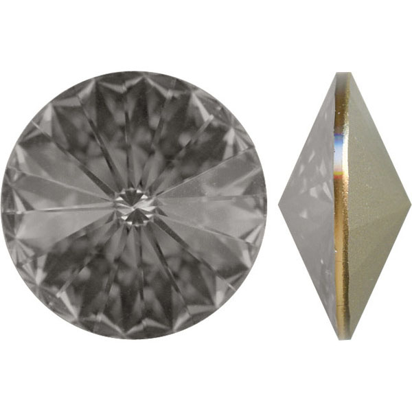 Swarovski Elements, Rivoli 1122 - Black Diamond, 14mm 1 buc