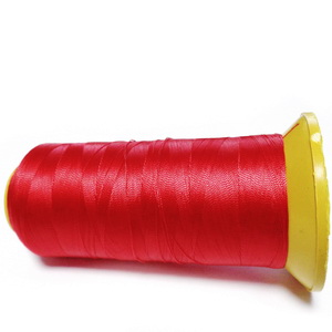 Ata polyester rosie, 0.1 mm-mosor cca 2200 metri 1 buc