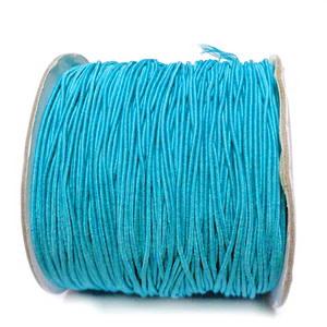Ata elastica bleu, 1mm 1 m