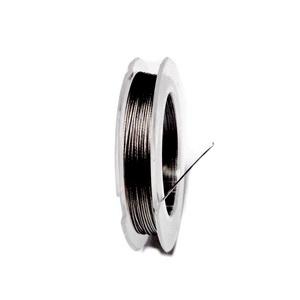 Sarma siliconata gri-argintiu, 0.45mm-rola cca 10m 1 buc