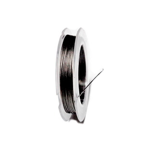 Sarma siliconata gri-argintiu, 0.38mm-rola cca 10m 1 buc