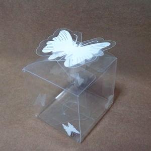 Cutie acetofan transparenta, 5x5x5cm 1 buc